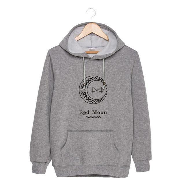 df2979cb2be3f KPOP MAMAMOO Album RED MOON K-POP Hoodies Hip Hop Hooded Tops Pullovers  Sweatshirts PT880