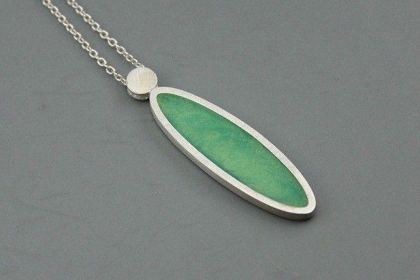 Handmade Green Jewellery Pendant