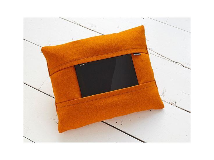 Tablet pillow orange