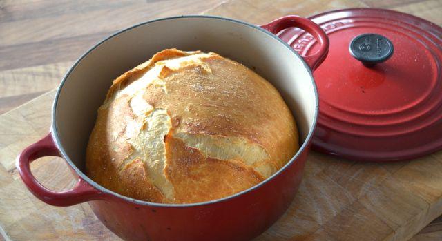 Brød i gryte