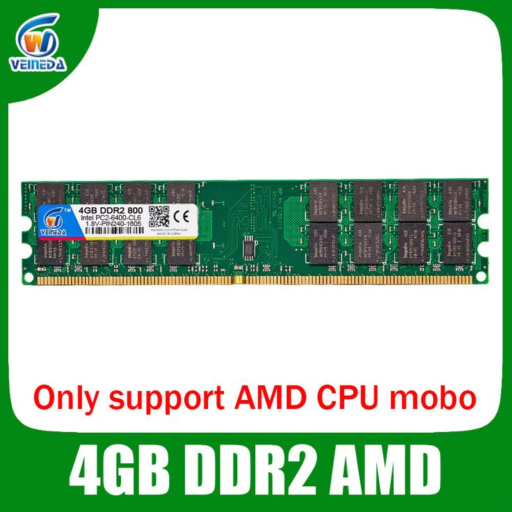 ddr2 16gb 4x4gb ddr2 800Mhz for amd mobo support dimm pc2 6400 Lifetime
