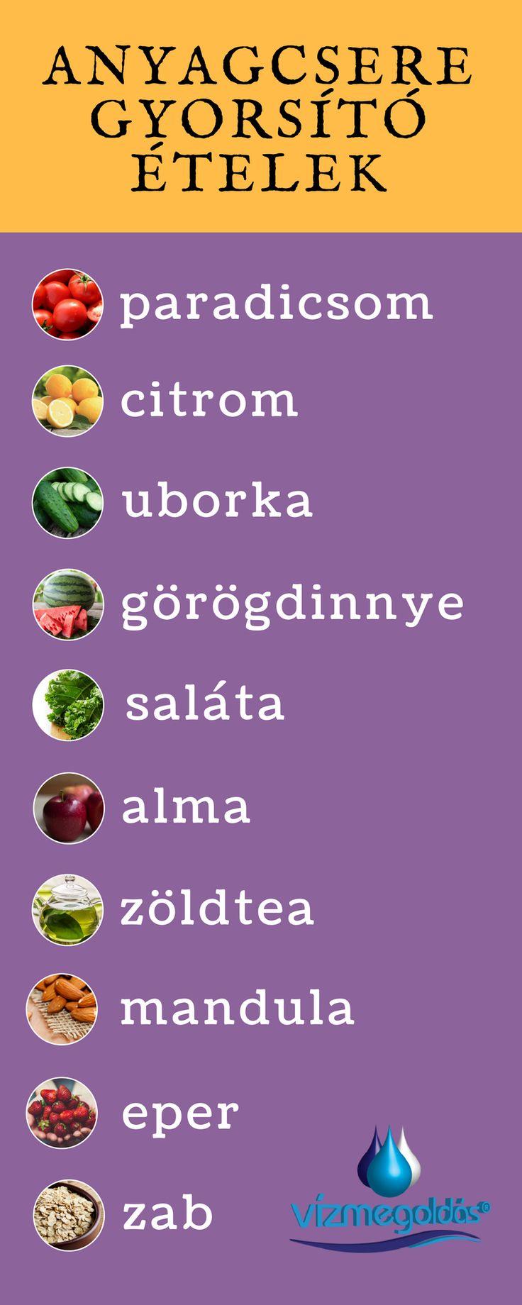 Anyagcsere gyorsító ételek - tudj meg többet az egészséges életmódról, kattints a képre!