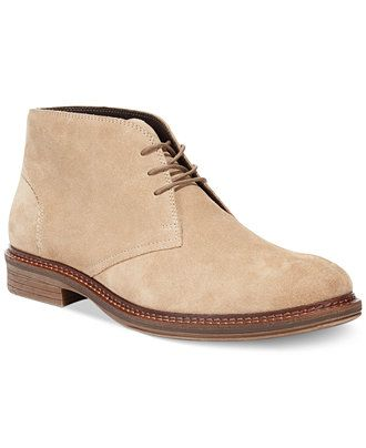 alfani lane suede chukka boots  boots  men  macy's