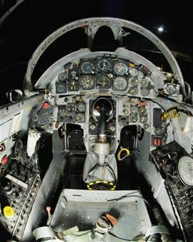 Lockheed F-104 Starfighter Cockpit