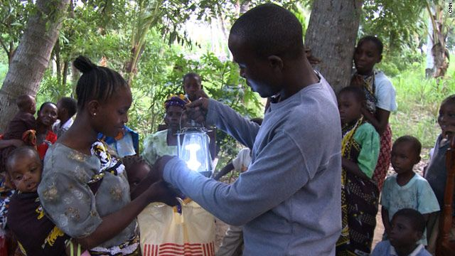 Solar Lamps Life People Out of Poverty http://www.cnn.com/2010/LIVING/11/01/wadongo.interview/index.html