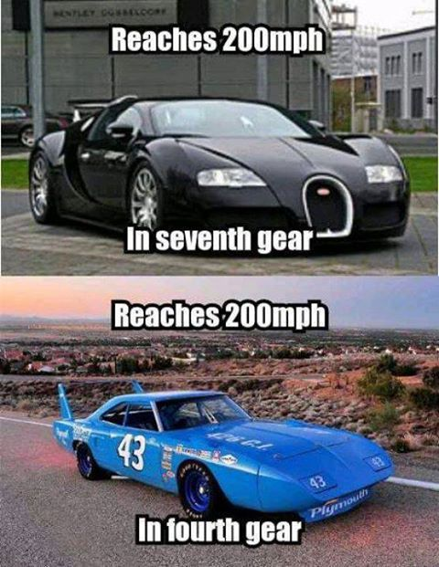 Muscle Car Memes: Reaches 200mph... - https://www.musclecarfan.com/muscle-car-memes-reaches-200mph/