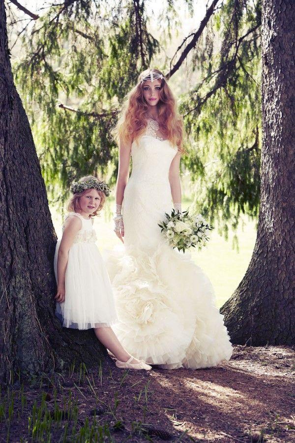 Stunning Feminine Wedding Gowns With A Modern Twist