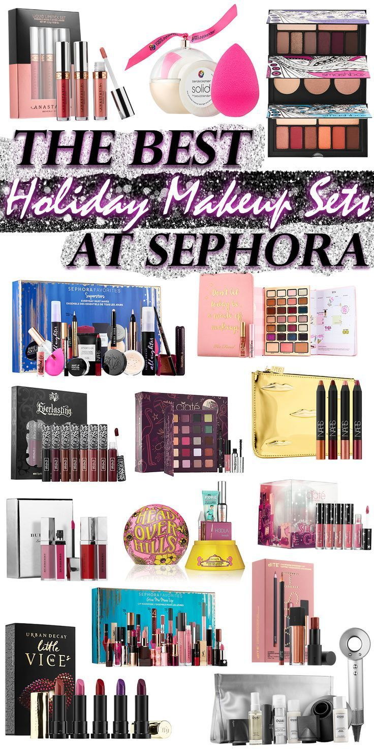 The Best Luxury Holiday Makeup Sets At Sephora Holiday Makeup Makeup Products Sephora Best Wedding Makeup