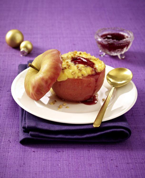 Unser beliebtes Rezept für Bratapfel mit Vanillepudding und Johannisbeergelee und mehr als 55.000 weitere kostenlose Rezepte auf LECKER.de.