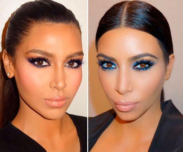 ¿Kim Kardashian eres tú? Conoce a su 'gemela' de Medio Oriente