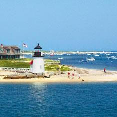 New England Islands Cruise -sails from Providence, RI with stops New Bed ford, Nantucket, Martha's Vineyard, Block Island, Newport.