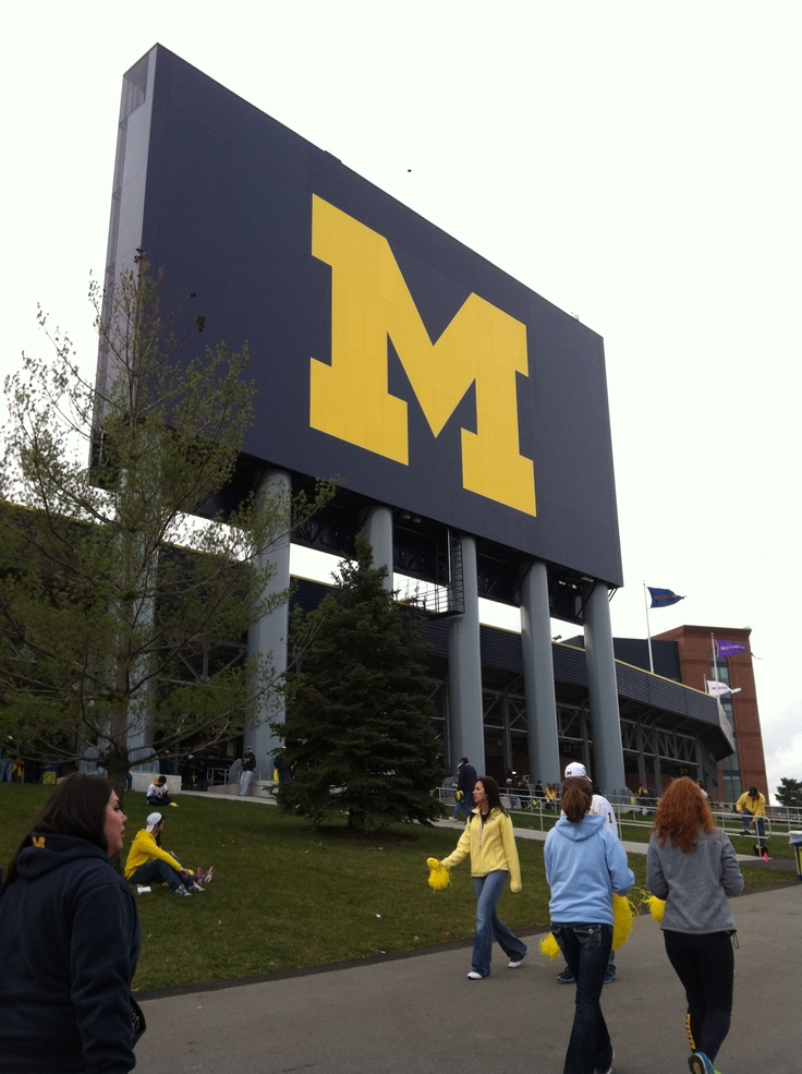 The Big House - Ann Arbor, Michigan.GO BLUE