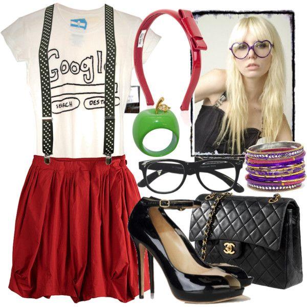 Cute fashion set for all us SEO fan girls. :)
