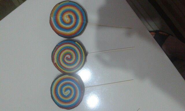 Keçe şekerler....