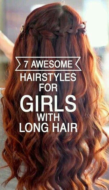 Braid with curls!  ;0)