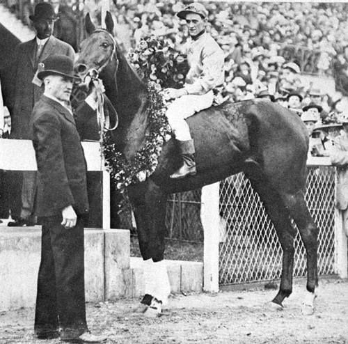 1913 Kentucky Derby winner, Donerail. Winning the race at 91-1, he became the longest long-shot to ever win the Derby.