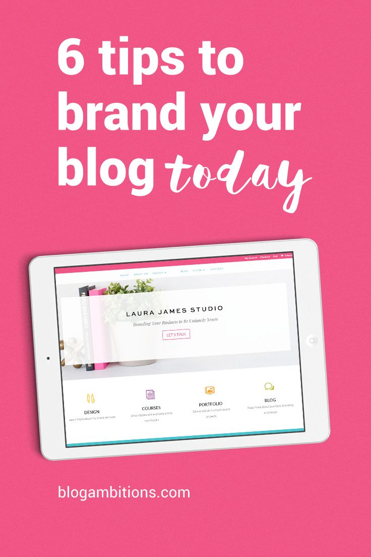 My number one tip to branding your blog for success.