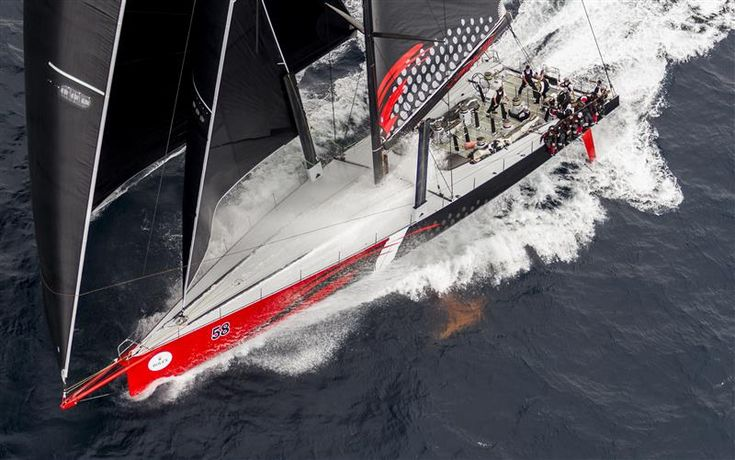 JIM & KIRSTY CLARK'S COMANCHE (USA), LINE HONOURS WINNER OF THE ROLEX SYDNEY HOBART 2015  Photo: Rolex / Stefano Gattini
