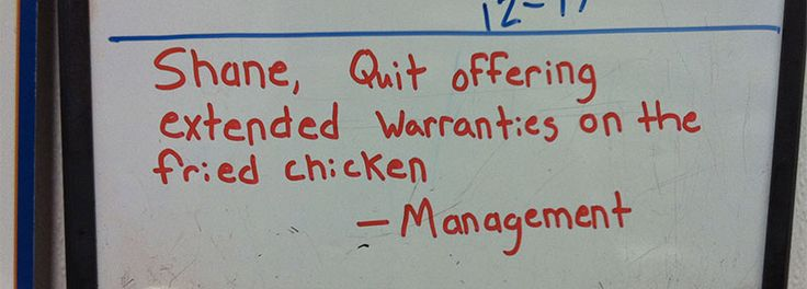 The Hilarious Story Of Shane, The Walmart Deli Guy, Told Through Notes From His Bosses