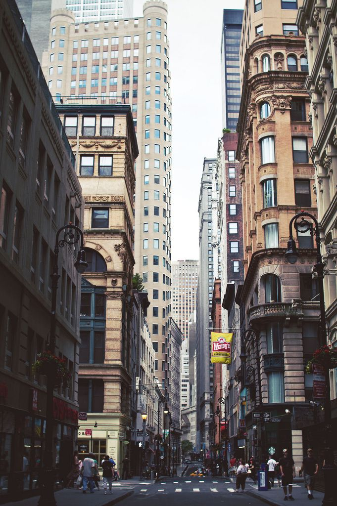 "NYC (by Julia Yusupov) ""Look up at the buildings, imagine who might live there."""