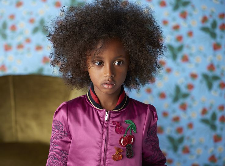 A look from the new Gucci Children's Cruise Collection.