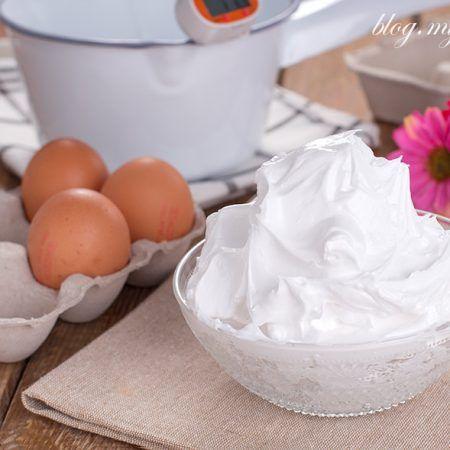 como hacer merengue italiano