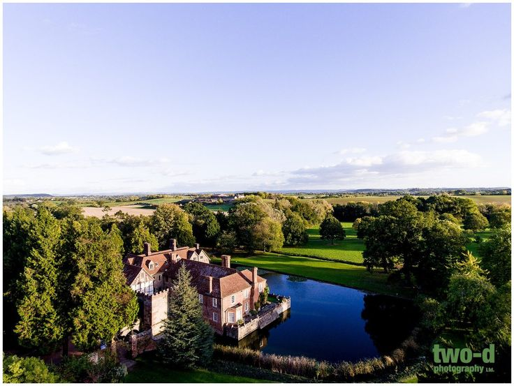 Drone Photography at a Birtsmorton Court Wedding - Two-d Photography and Videography