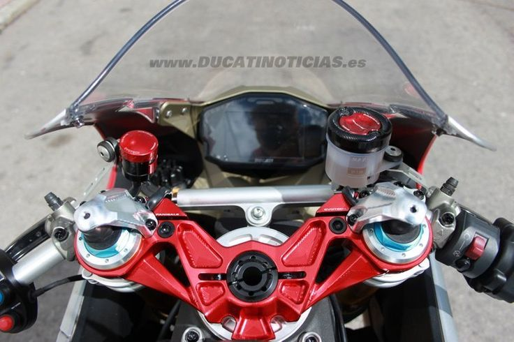 #Ducati #1199S #Panigale #Evotech Edition #motomadrid #forzaducati www.DUCATINOTICIAS.es
