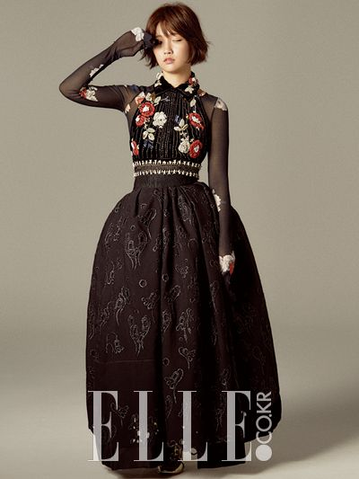 Park So-dam // Elle Korea