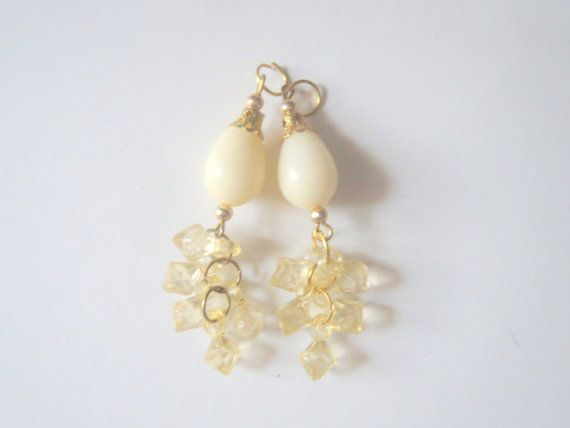 Ivory pearl and Glass Bead Traditional Tassel/ by CraftyJaipur