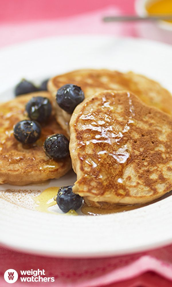 Gluten Free Apple & Cinnamon Pancakes.  The whole family will enjoy tucking into this yummy recipe this Pancake Day! Enjoy for just 7 SmartPoints. #MyWWJourney Check out the recipe here: https://cmx.weightwatchers.co.uk/nui/explore/details2/v3:5625c0b12ac6750e34a9afd5:WWRECIPE:564fff78495f2aeb337a4582