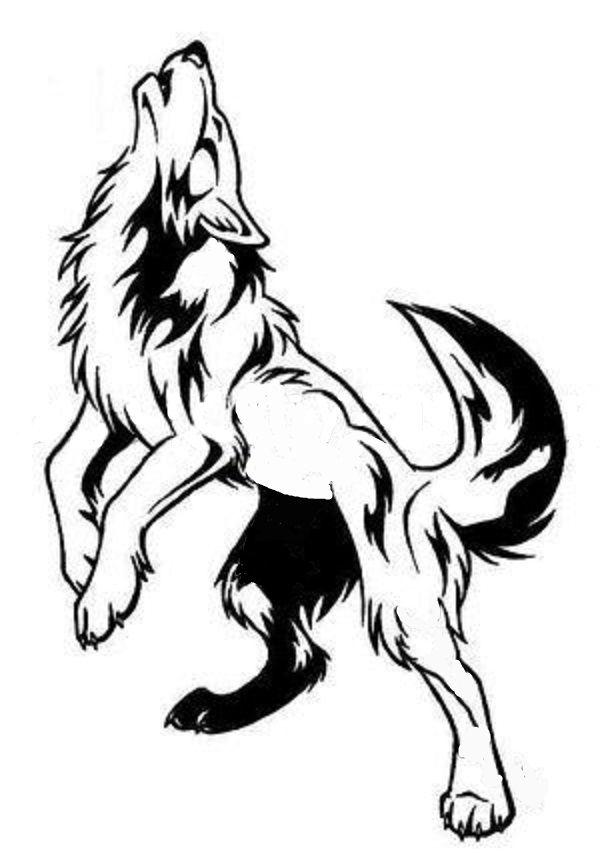 Dibujo Tatuajes De Lobos Tribales Tatuajes Tribales De Animales Tatuajes De Plumas