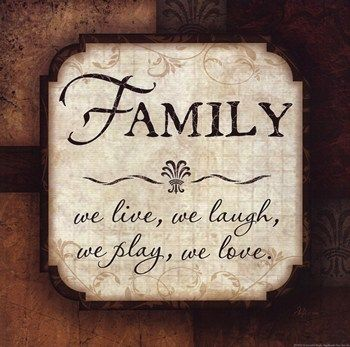 Quotes And Sayings About Family | Family ~ Fine-Art Print - Quotations Art Prints and Posters ...