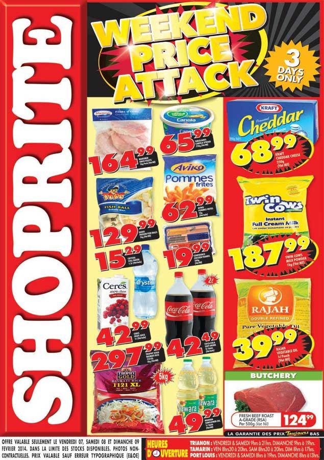 Shoprite Hyper Weekend Price Attack Trianon Tamarin Port Louis 07 09 Fevrier 2014 Shoprite Chicken Franks Pops Cereal Box