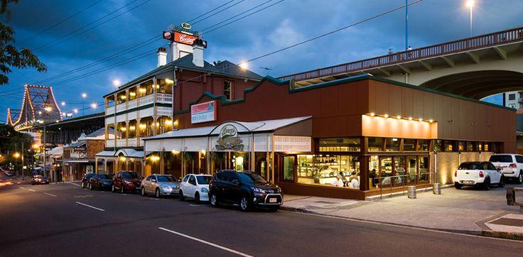 Main St Bar at Story Bridge Hotel by Brand + Slater Architects. [ Photography - Mindi Cooke ]
