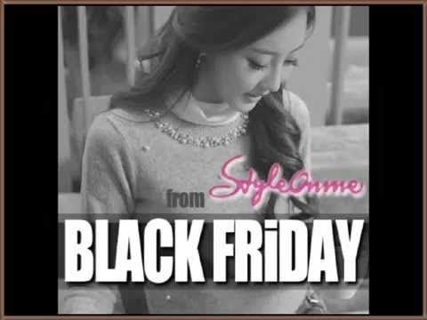 StyleOnme Black Friday Event with Ebay, Facebook https://www.facebook.com/StyleonmeEn http://stores.ebay.com/StyleOnMe-Korea  www.styleonme.com