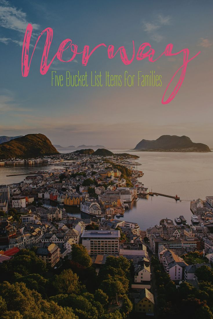 Family Travel Destinations | Norway | Toddler Travel