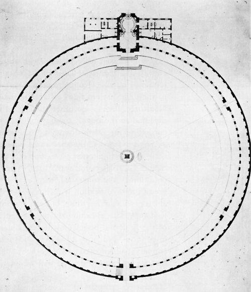 Capron, Cemetery, Plan, Paris, France, 1782
