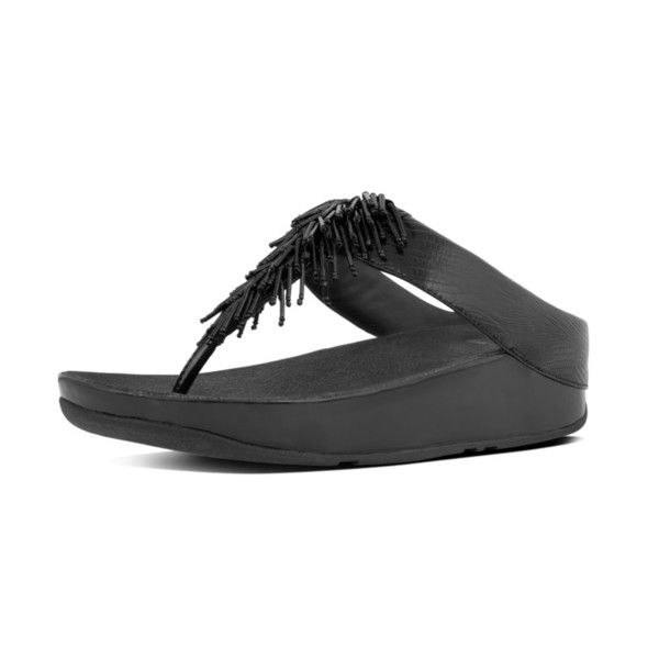 d6a7c8ace56b FitFlop Cha Cha Sandals in Black colour available from Brandshop UK with  FREE postage and returns