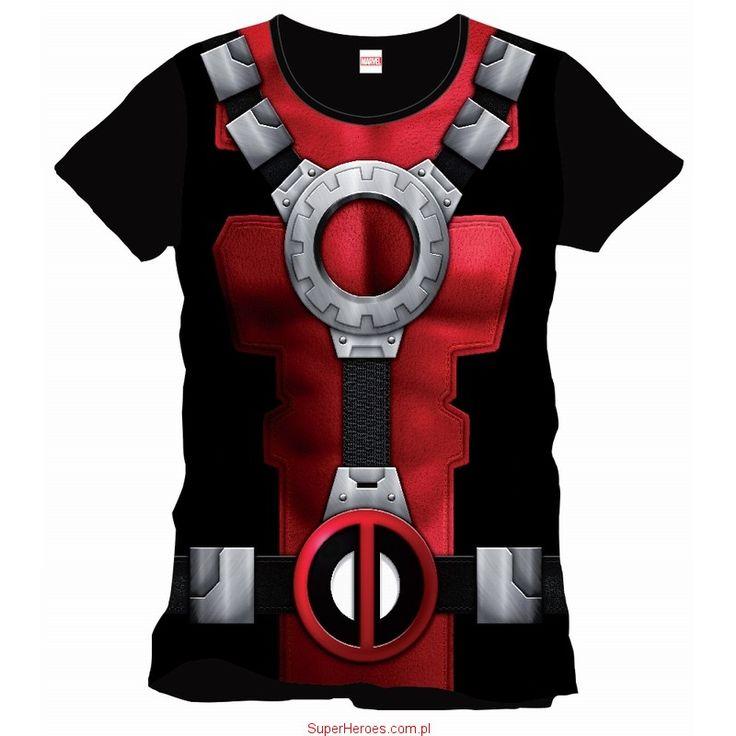 Koszulka Deadpool - kostium