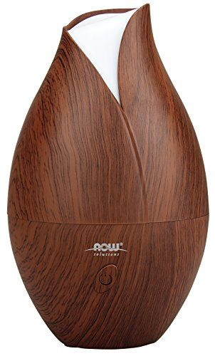 diffuser for birthing suite - take to hospital! Now Foods Ultrasonic Wood Grain Oil Diffuser Now Foods