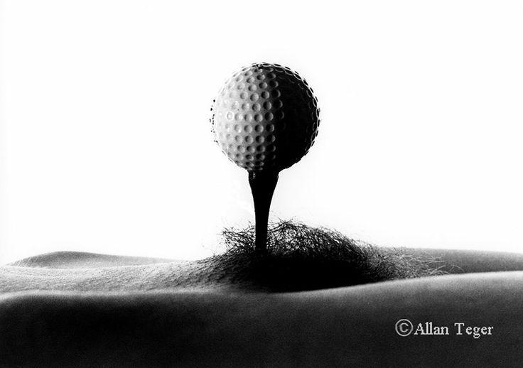 Bodyscape: Golf Ball on Tee by Allan Teger   Allan teger ...