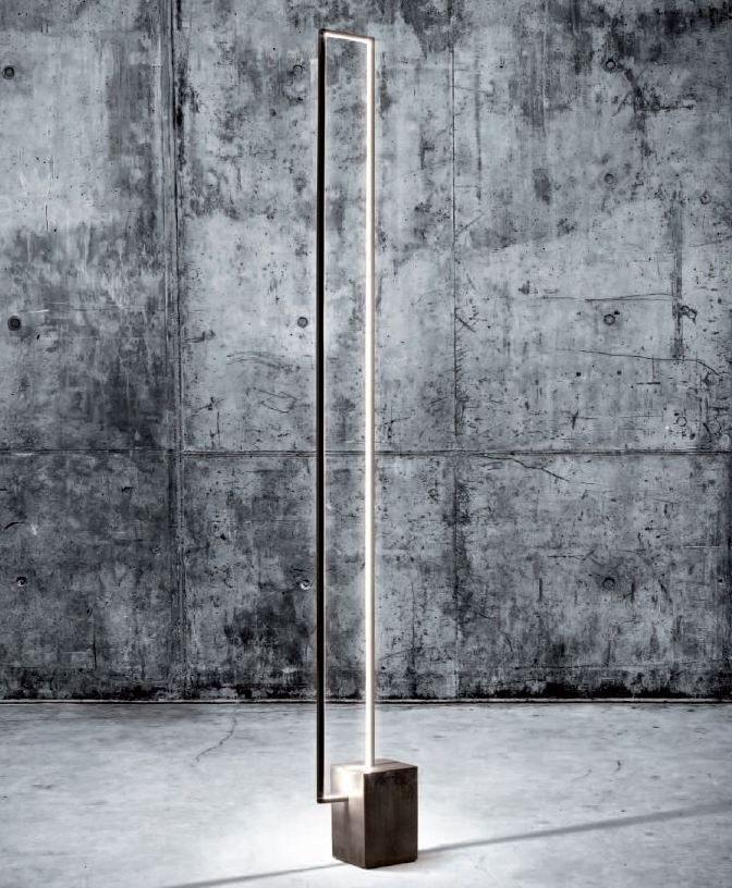 #LED floor #lamp MIRÉ LT - CINIER Radiateurs Contemporains #design