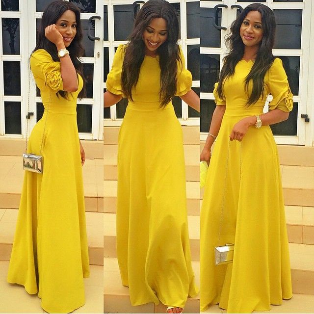Yellow Dresses to Wear to a Wedding