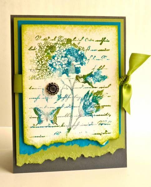 Открытки днем, открытки с рваным краем