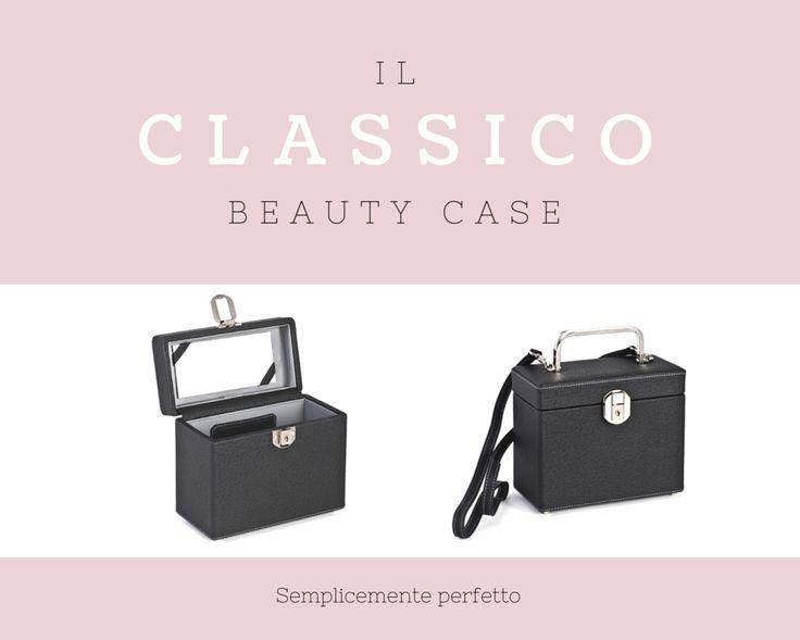 Lineare e semplice come il migliore dei #MakeUp.   #CepiPelletterie #BeautyCase