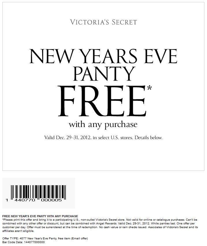 Victoria secret coupons december 2019