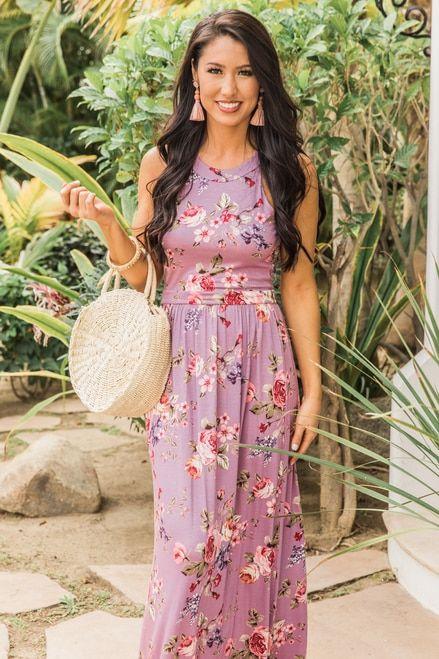 2af6b8221ad3 Love You Best Floral Maxi Dress Purple CLEARANCE in 2019 | Dresses | Floral  maxi dress, Dresses, Purple dress