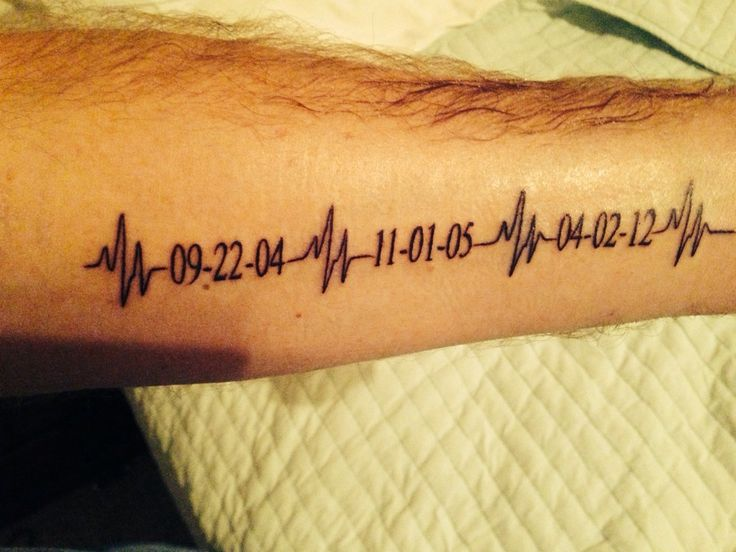 kids ekgs tattoo wrist - Google Search