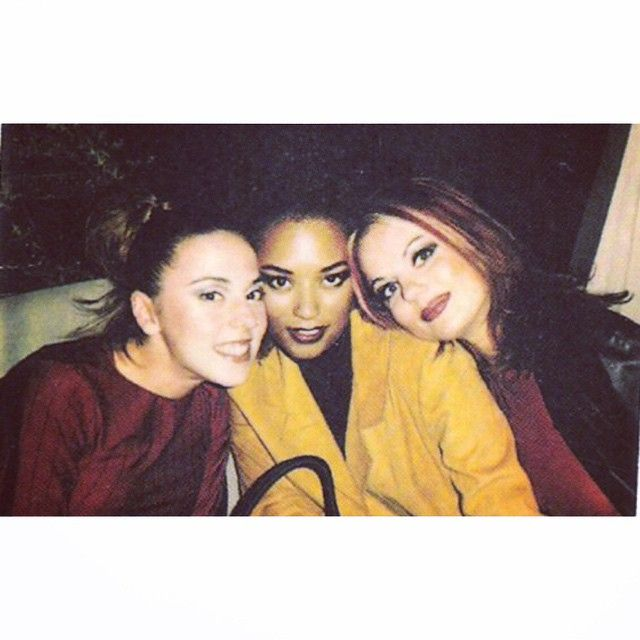 """Melanie C, Mel B and Geri in Hong Kong on July 6th, 1996! ✌️ #spicegirls #spice #Sporty #Scary #Ginger #girlpower #HongKong #Asia #90s…"""